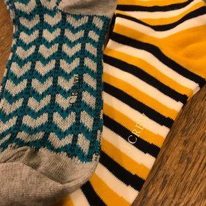 J. Crew Accessories - J Crew Socks 2 pair Bundle NWOT